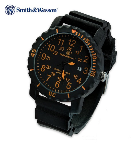 Smith & Wesson PW1063 Military Watch - Orange (Online Only)
