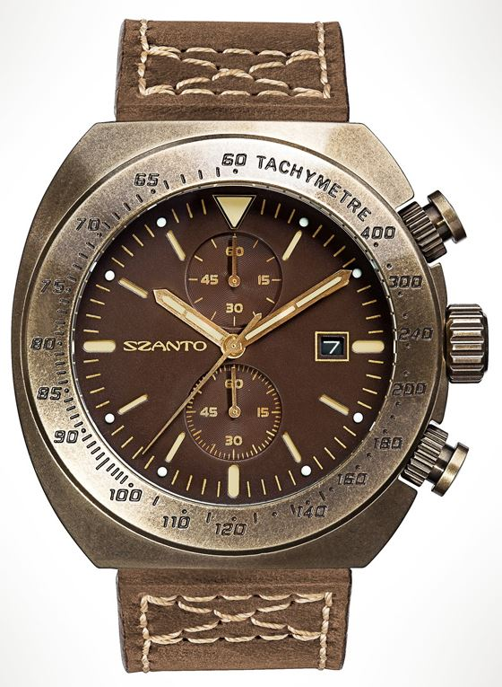 Szanto 4103 Auto Racing - Brown Dial