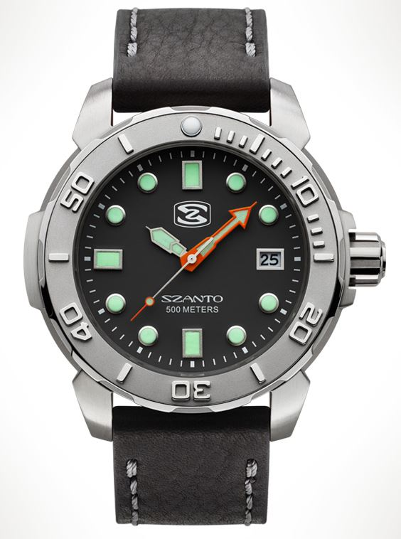 Szanto 5101 Dive Series - Black Dial