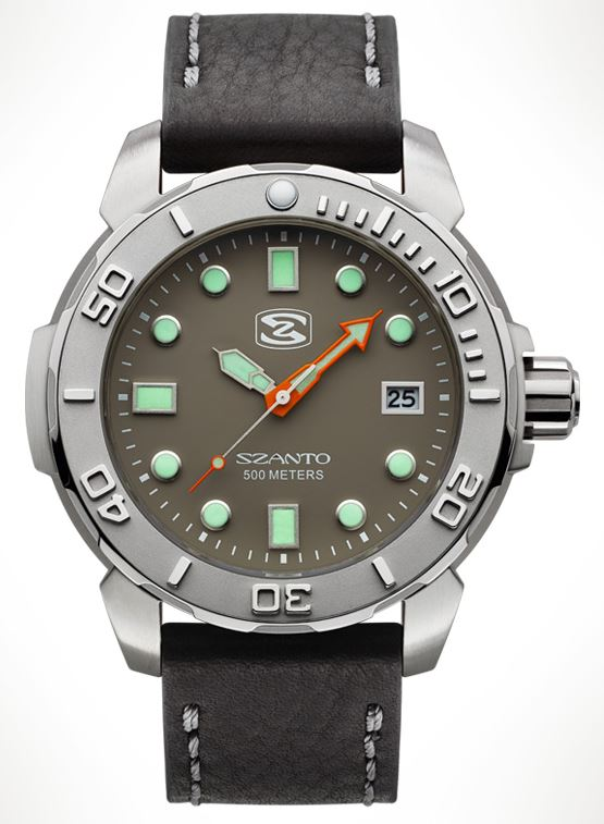 Szanto 5104 Dive Series - Grey Dial