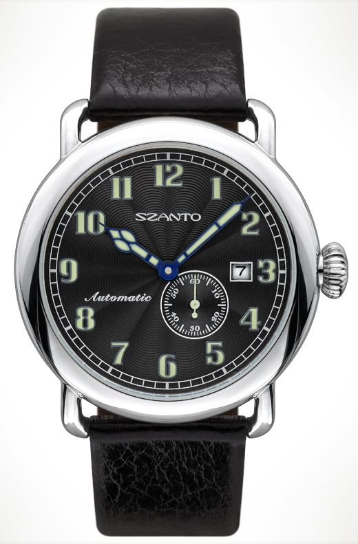 Szanto 6301 Officer's Round Automatic - Black