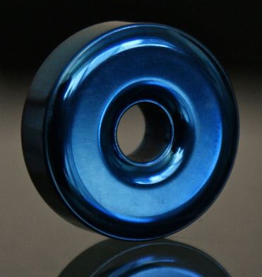 TEC Accessories R1 Titanium Lanyard Bead 3022 - Blueberry