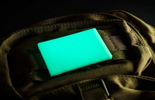 TEC Accessories Embrite BEACON Moral Patch - Aqua Glow