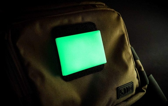 TEC Accessories Embrite BEACON Moral Patch - Green Glow