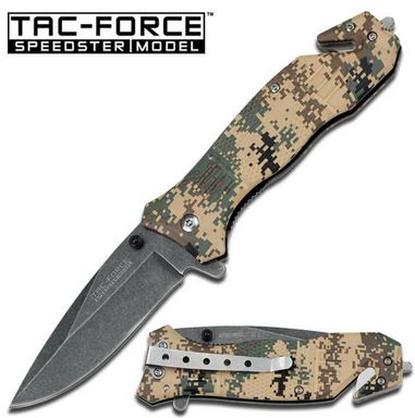 Tac Force 434DTC Marines Digi Camo Assisted Open (Online Only)