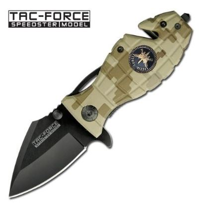 Tac Force 502SFC Assisted Grenade - Desert Camo (Online Only)