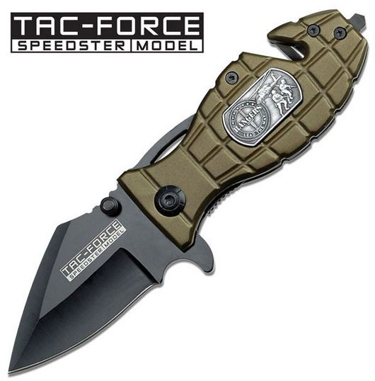 Tac Force 556RG Grenade Green Ranger Assisted Open (Online Only)
