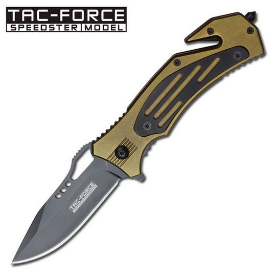 Tac Force TF579GN Green Aluminum Assisted Open (Online Only)