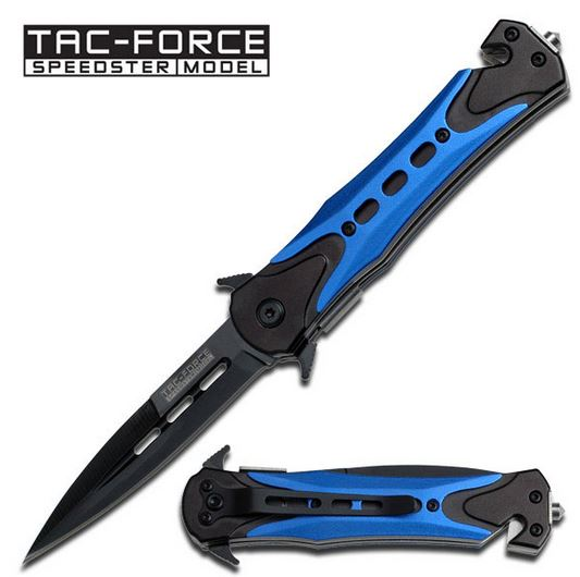 Tac Force TF719BL Blue Spear Folder (Online Only)