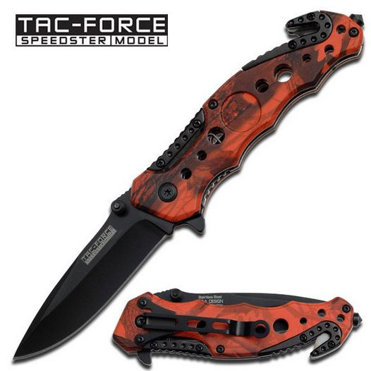 Tac Force 723RC Orange Camo Folder (Online Only)