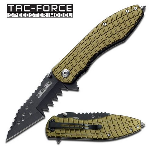 Tac Force 729GN Jagged - Army Green (Online Only)