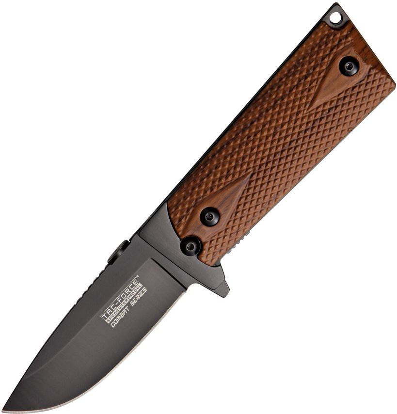 Tac Force 754WD Combat Faux Wood Assisted Opening (Online Only)