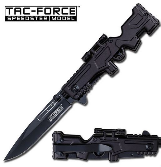 Tac Force TF772BK Black Assisted Open (Online Only)