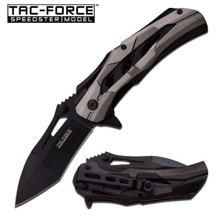 Tac Force TF915GY Folding Knife Assisted Opening (Online Only)