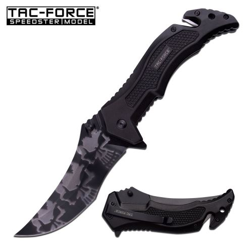 Tac Force TF946BK Folding Knife Assisted Opening (Online Only)