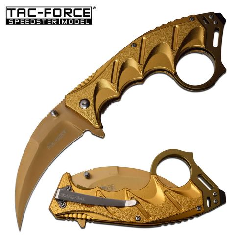 Tac Force TF957GD Folding Knife, Assisted Opening