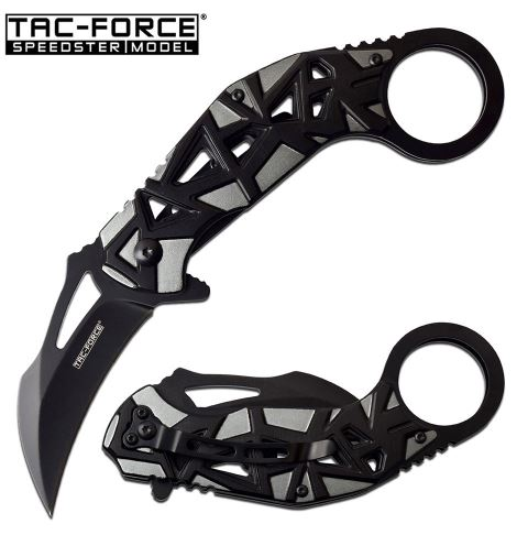 Tac Force TF961GY Folding Karambit, Assisted Opening