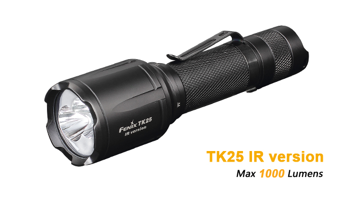 Fenix TK25IR Tactical Light With Infrared - 1000 Lumens