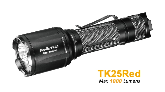 Fenix TK25RED Hunting Flashlight - 1000 Lumens