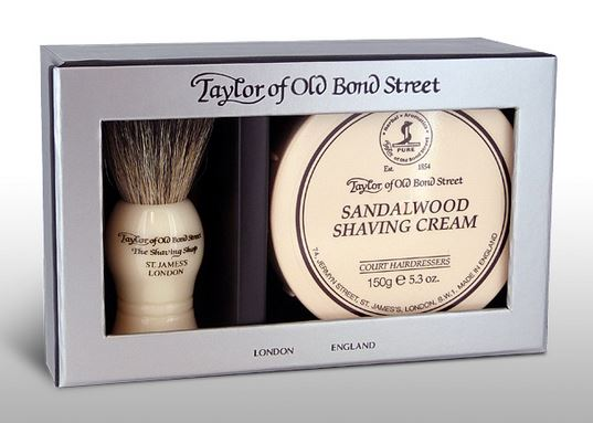 Taylor of Old Bond Street Pure Badger & Sandalwood Shave Cream