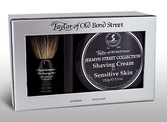 Taylor of Old Bond Street Pure Badger & Jermyn Street Cream