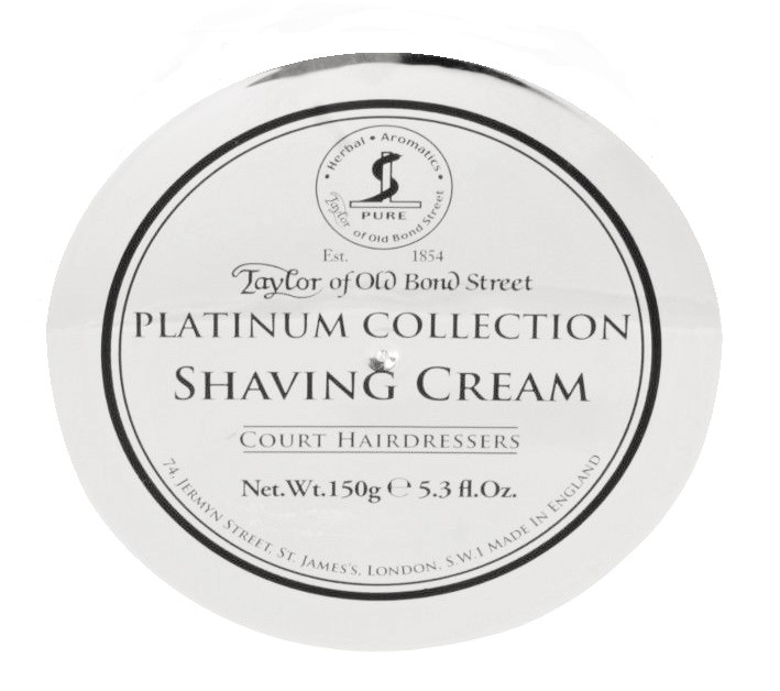 Taylor of Old Bond Street Shaving Cream Bowl-Platinum Collection