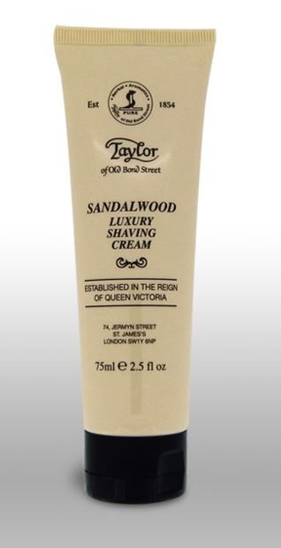 Taylor of Old Bond Street Shaving Cream Tube - Sandalwood