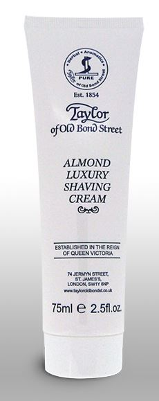 Taylor of Old Bond Street Shaving Cream Tube - Almond