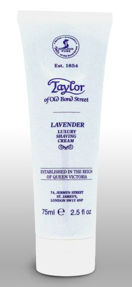 Taylor of Old Bond Street Shaving Cream Tube - Lavender