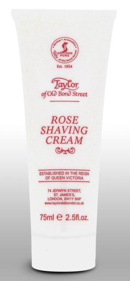 Taylor of Old Bond Street Shaving Cream Tube - Rose