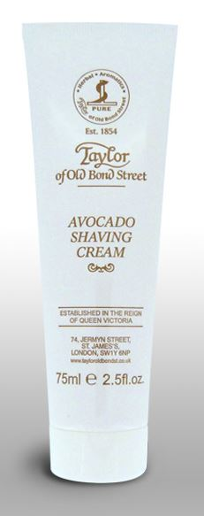 Taylor of Old Bond Street Shaving Cream Tube - Avocado