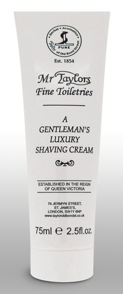 Taylor of Old Bond Street Shaving Cream Tube - Mr Taylor