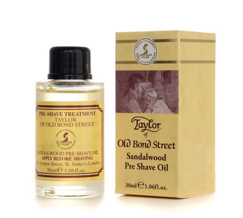 Taylor of Old Bond Street Pre-Shave Oil 30 ml - Sandalwood