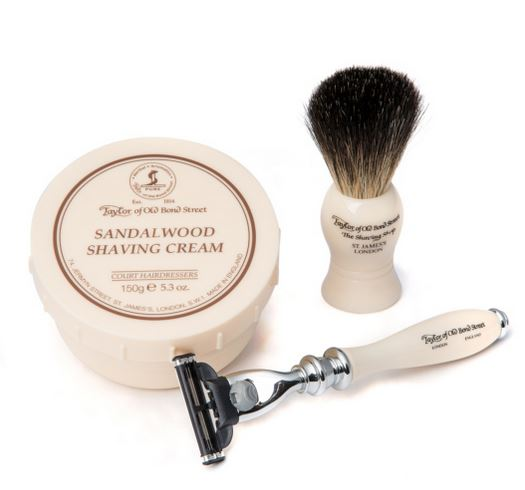 Taylor of Old Bond Street Victorian Mach3 Gift Set- Sandalwood