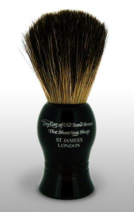 Taylor of Old Bond Street Pure Badger Brush - Black