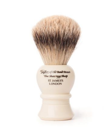 Taylor of Old Bond Street Super Badger Brush - White