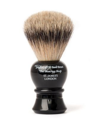 Taylor of Old Bond Street Super Badger Brush - Black