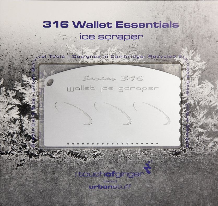 Touch of Ginger 05 Wallet Ice Scraper