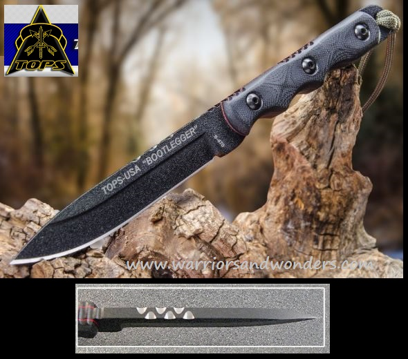TOPS RBL01 Ranger Bootlegger w/ Nylon Sheath (Online Only)