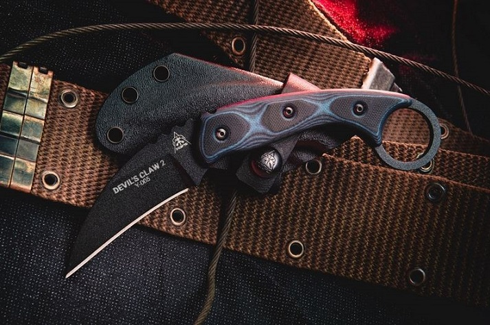 Tops DEVCL-02 Devil's Claw 2 with Kydex Sheath