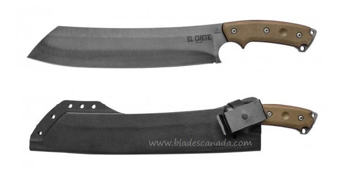 Tops ELCH-01 El Chete Chopper - Kydex Sheath w/ Clip
