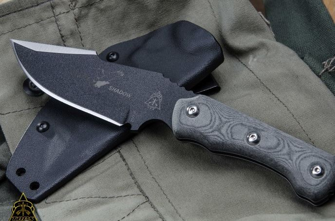 TOPS ESH01 Eagles Shadow w/Kydex Sheath