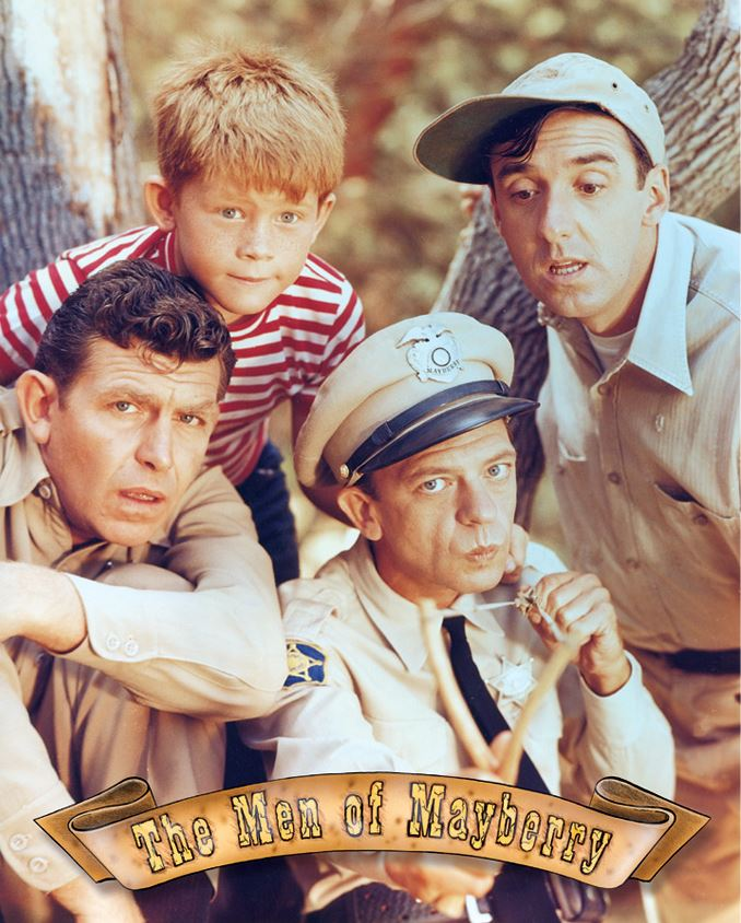 Tin Sign 0814 The Men of Mayberry