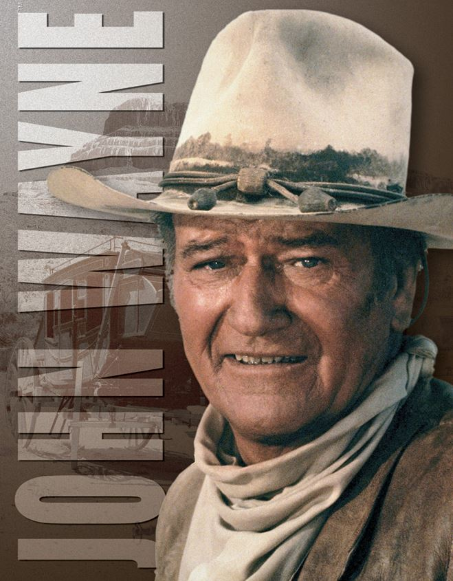 Tin Sign 1188 John Wayne - Stagecoach
