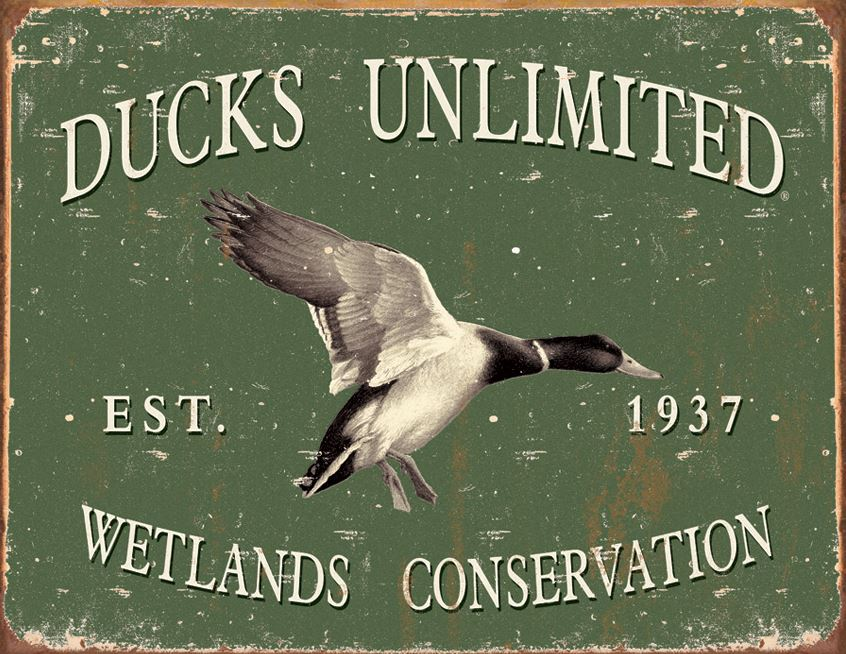 Tin Sign 1388 - Ducks Unlimited Since 1937