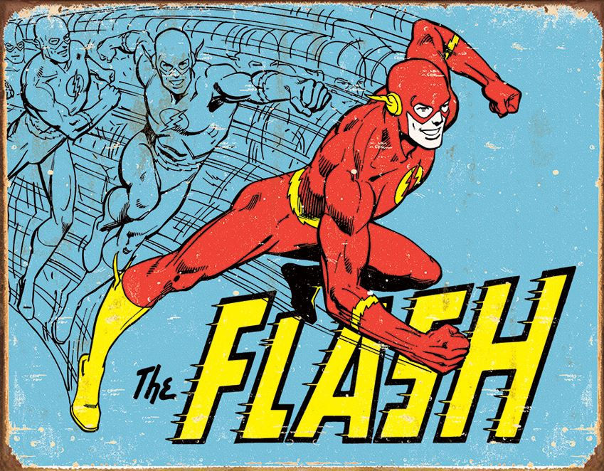 Tin Sign 1959 The Flash - Retro [Clearance]