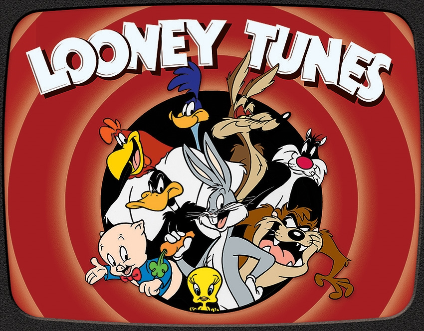 Tin Sign 2178 Looney Tunes Family
