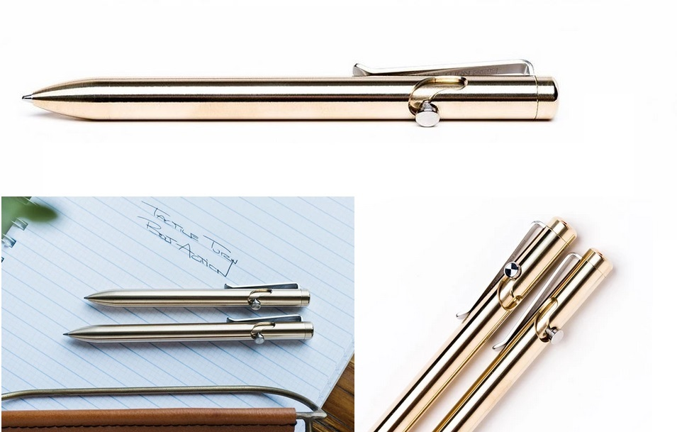 Tactile Turn Bolt Action Pen Standard - Bronze