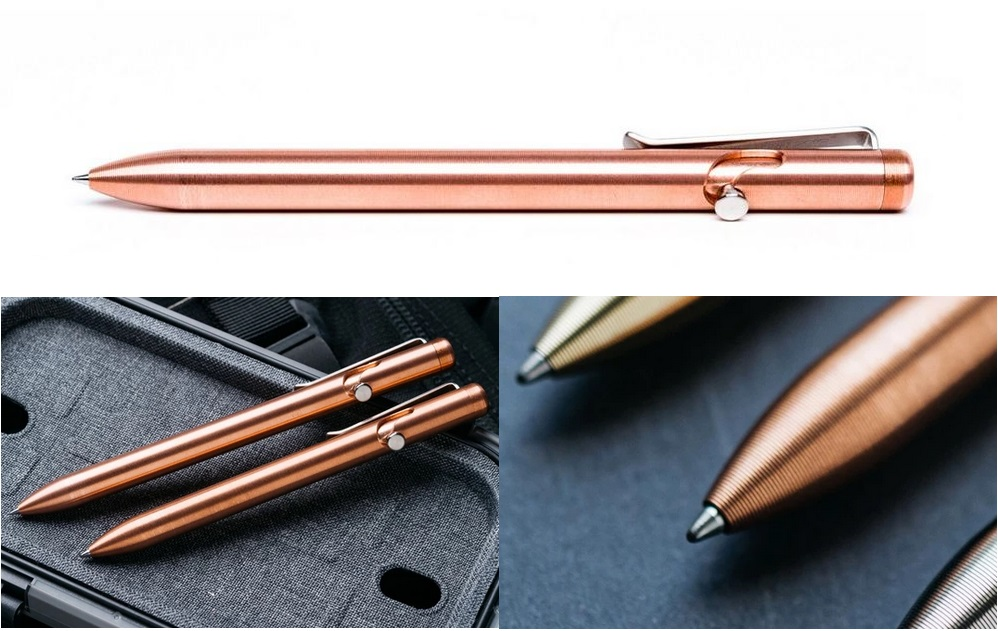 Tactile Turn Bolt Action Pen Standard - Copper