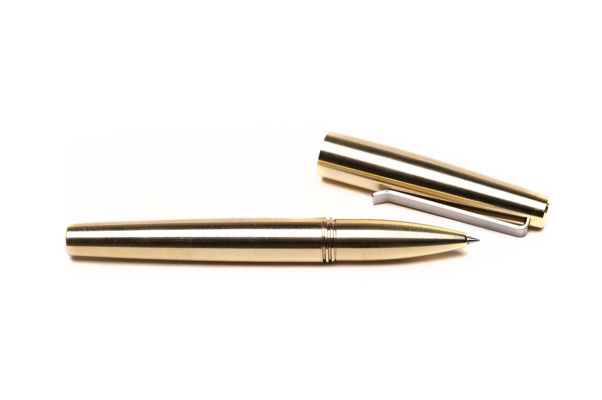 Tactile Turn Gist Rollerball - Brass